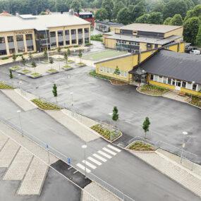 Bussangöring vid Torskolan, Torsås