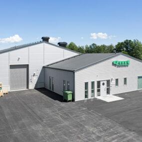 QMT, nybyggnation produktionslokal samt kontor